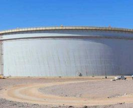 Резервуар для нефти, Египет,