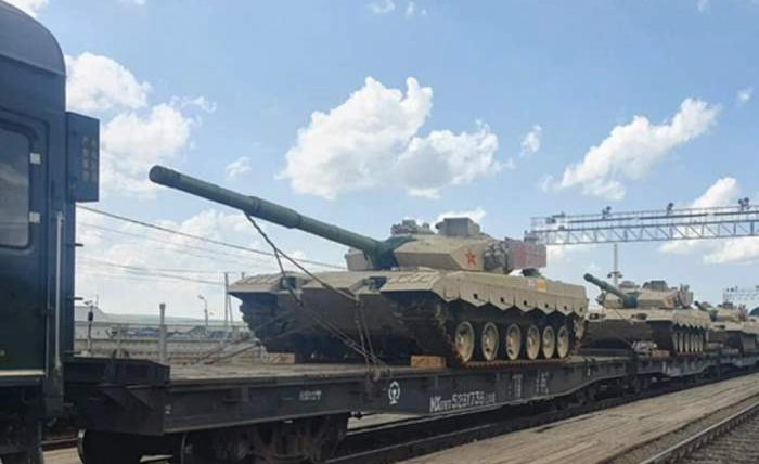 ТИП-96, танк, Китай,