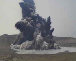 Таал, вулкан, извержение,