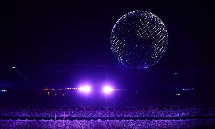 Токио, Олимпийские игры, открытие,