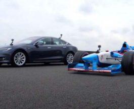 Формула -1, Benetton B197, Tesla Model S ,