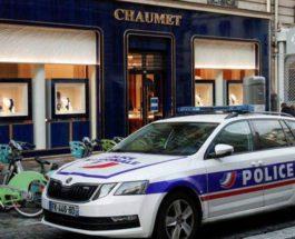 Франция, бутик, ограбление, драгоценности,