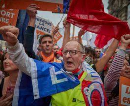 Франция, протесты, вакцинация,