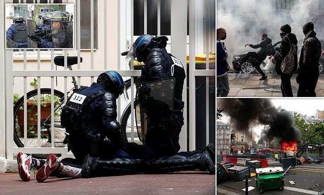 Франция, протесты,
