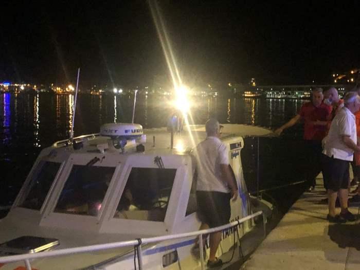 Хорватия, корабли, столкновение,