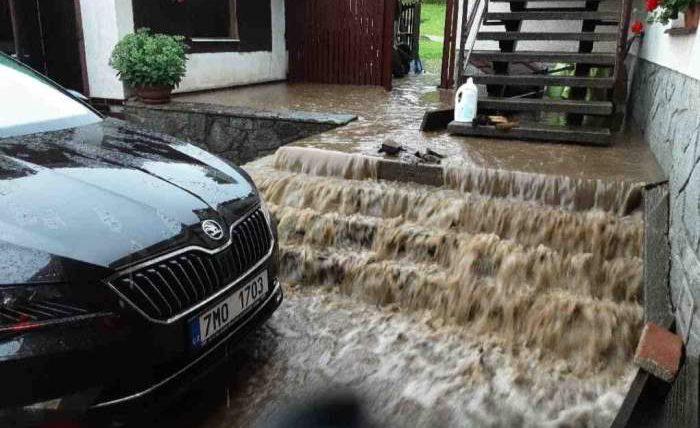 Чехия, наводнение,