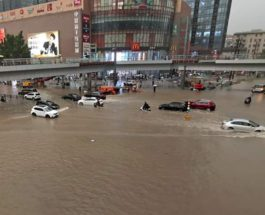 Чжэнчжоу, Китай, наводнение, метро,
