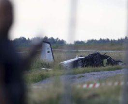 Швеция, авиакатастрофа,