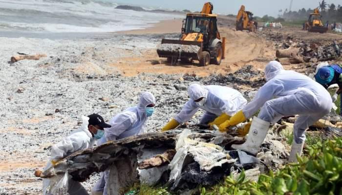 Шри-ланка, Экологическая катастрофа,