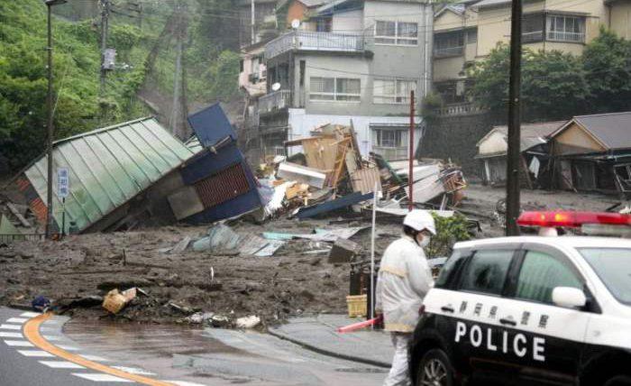 Япония, эвакуация, погода,