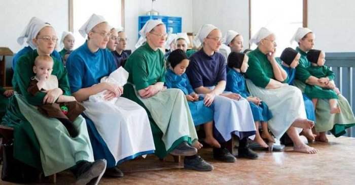 амиши, женщины, девушки,