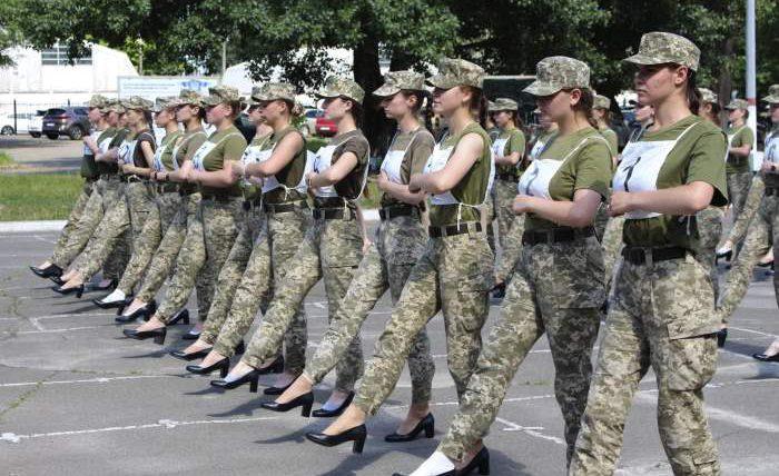 парад, кадетки, Украина, женщины, туфли, скандал,