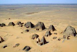 пирамиды, Судан,