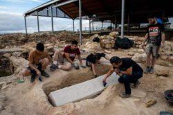 В римском некрополе обнаружен саркофаг вестготов