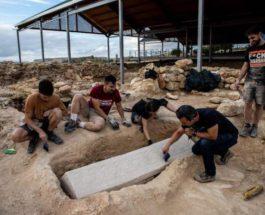 саркофаг, римский некрополь, вестготы,