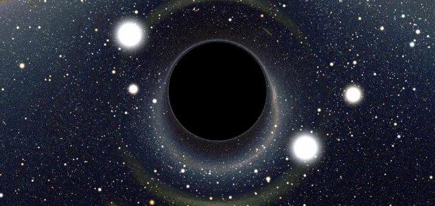 свет, черная дыра,
