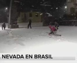 снег, Бразилия,