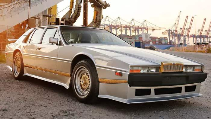 Aston Martin, Lagonda, Саддам Хусейн,