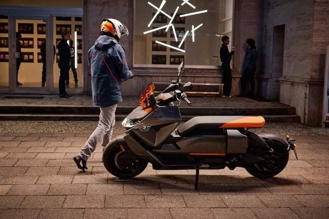 CE 04, BMW, элетробайк, скутер,