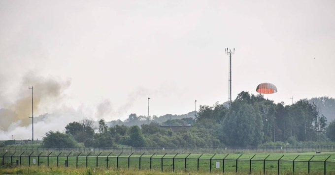 F-16, истребитель, Нидерланды, аэропорт,