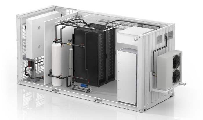 Schneider Electric, дата-центр, жидкостное охлаждение,