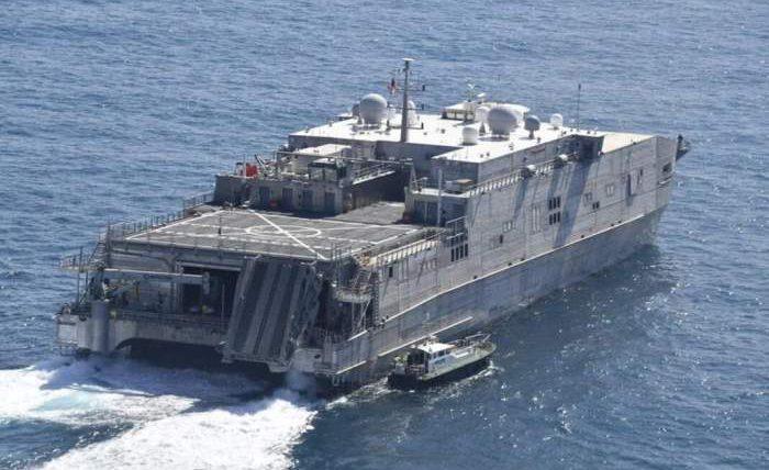 Spearhead, USNS Yuma, T-EPF 8,