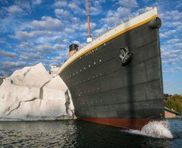 Айсберг, Титаник, музей, Теннесси,