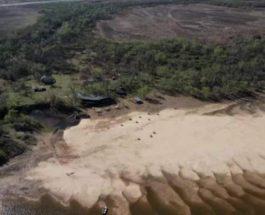 Аргентина, Парана, река, засуха,
