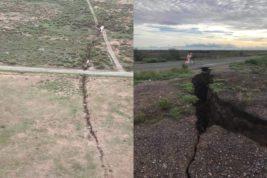 Аризона, трещины,