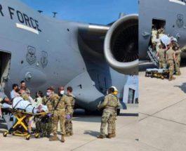 Афганка, Германия, военный самолет, роды,