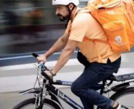 Афганский министр, Германия, велокурьер,