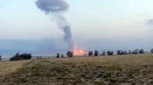 Взрыв на складе боеприпасов в Казахстане