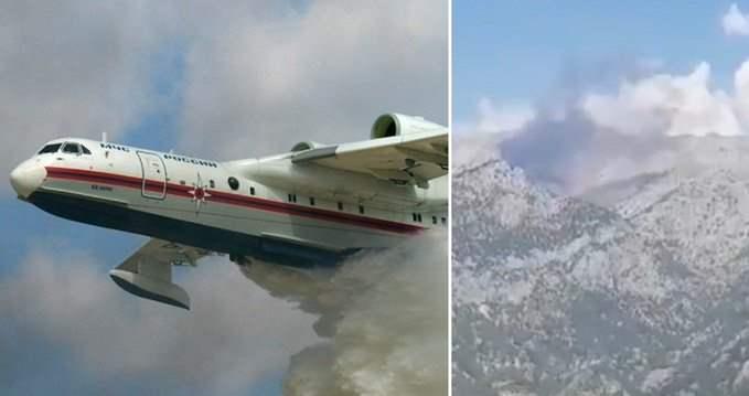 Бе-200, самолет, разбился,