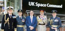 Британские военные открыли первый космический командный центр