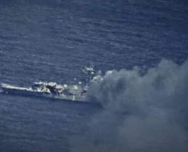 ВМС США, военный корабль, разбомбили,