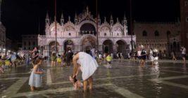Венеция, высокая вода,