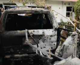Военные США, ракетный удар, Кабул, Афганистан,