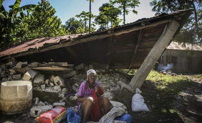 Гаити, землетрясение,