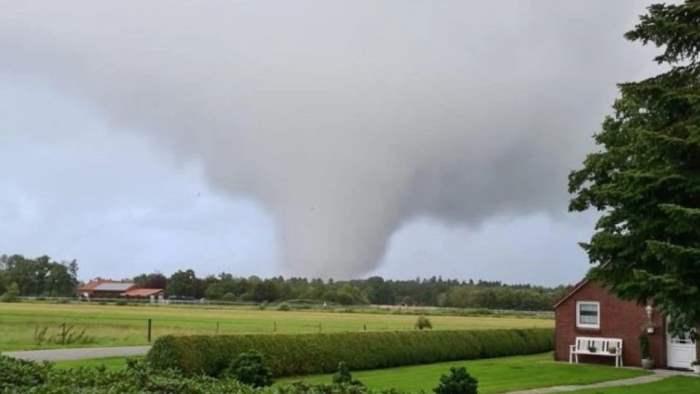 Германия, торнадо,