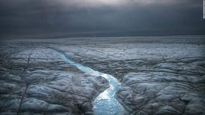Гренландия, дождь,