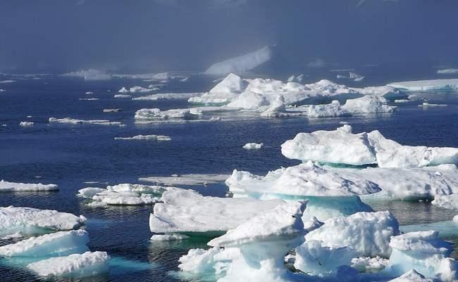Гренландия, лед, таяние льда,