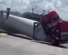 Грузовик, ветряная турбина, лопасть, поезд, Техас,