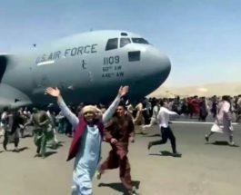 Кабул, аэропорт, люди, эвакуация,