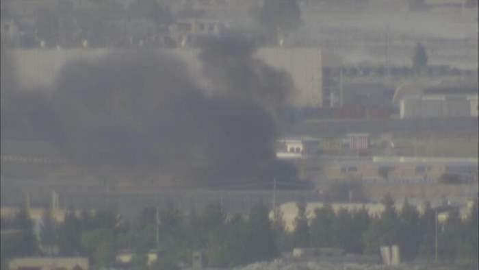 Кабул, пожар, аэропорт,