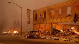 Калифорния, лесные пожары, Дикси пламя, Гринвилл,