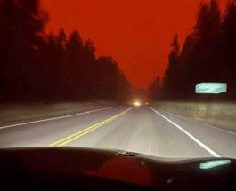 Канада, Британская Колумбия, лесные пожары,