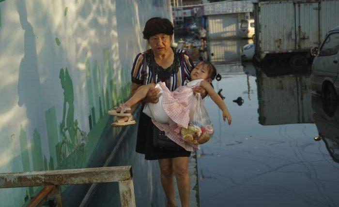 Китай, наводнения,