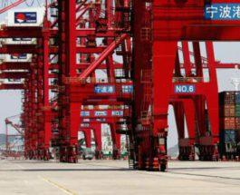 Китай, порт, covid,