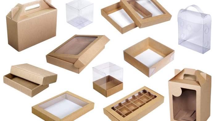 Крафт-картон, крафтовые коробки,