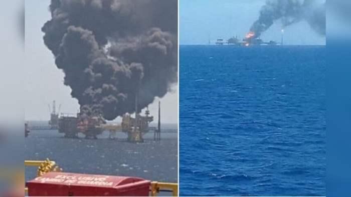 Ку-Альфа, Мексиканский залив, нефтяная платформа,